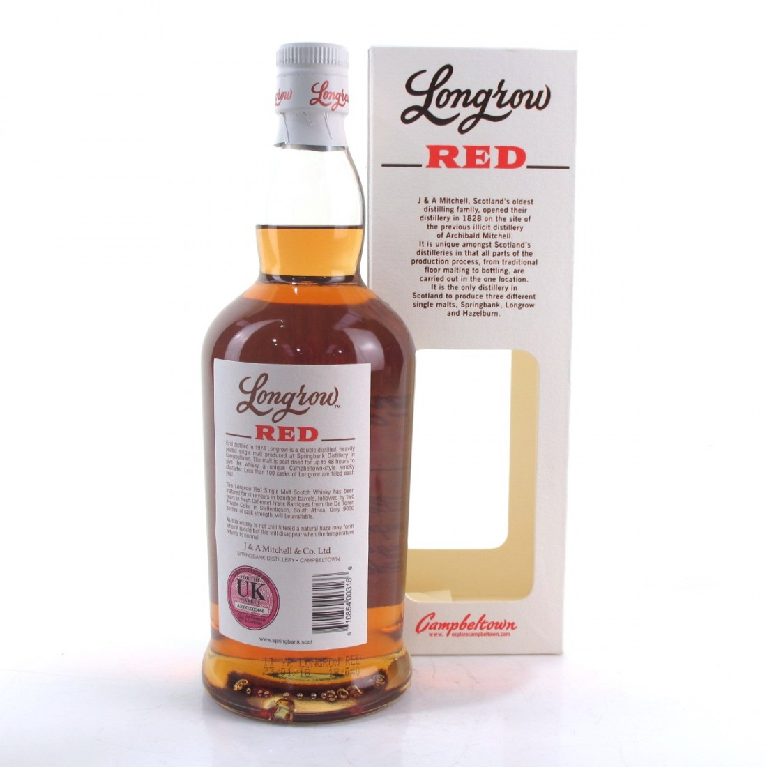 Longrow Red 11 Year Old Cabernet Franc