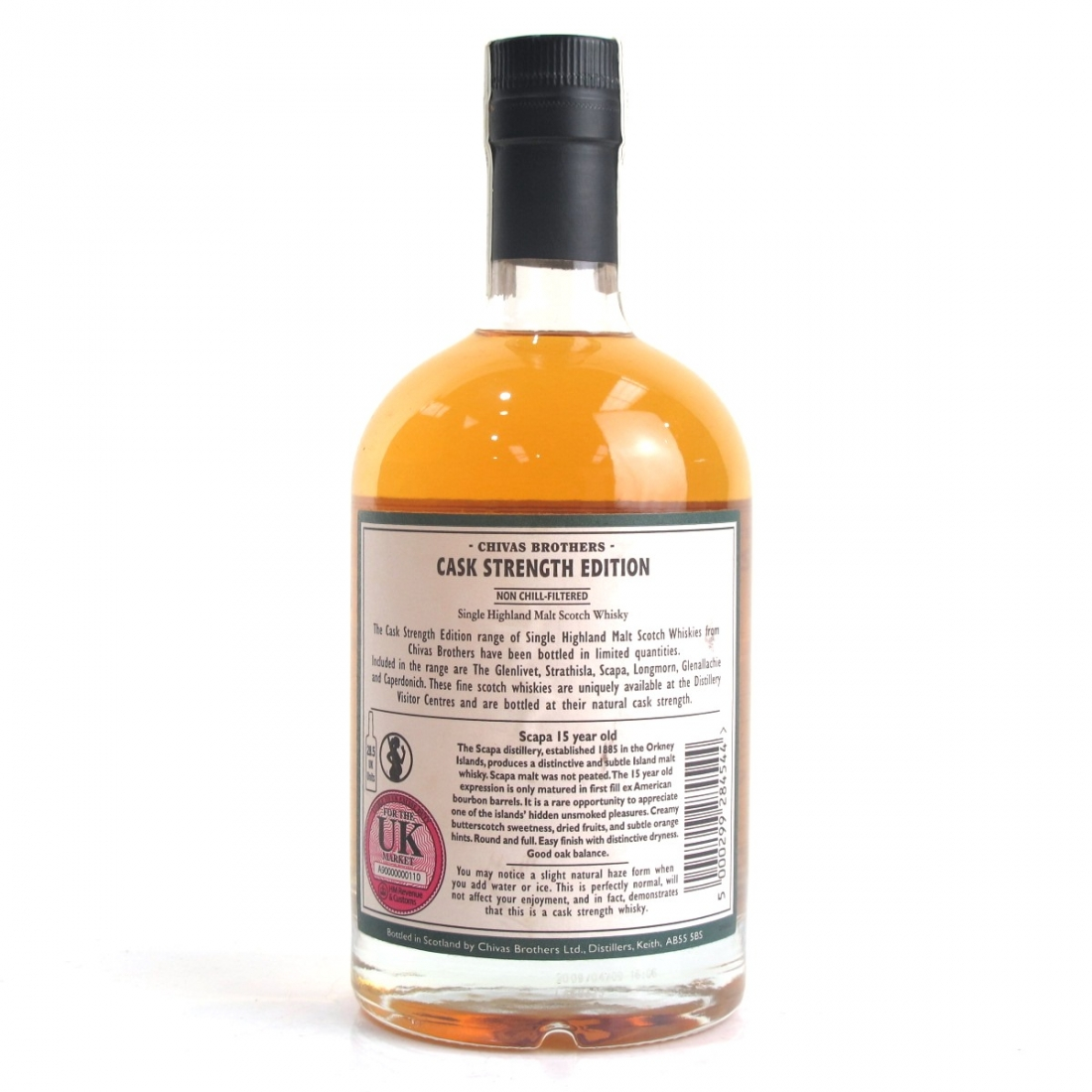 Scapa 1993 Cask Strength 15 Year Old Batch #002