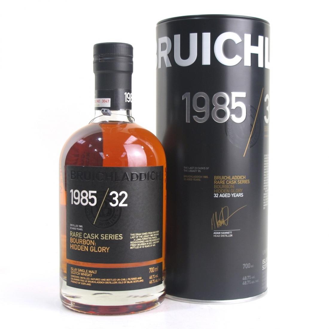 Bruichladdich 1985 Rare Cask Series 32 Year Old / Hidden Glory