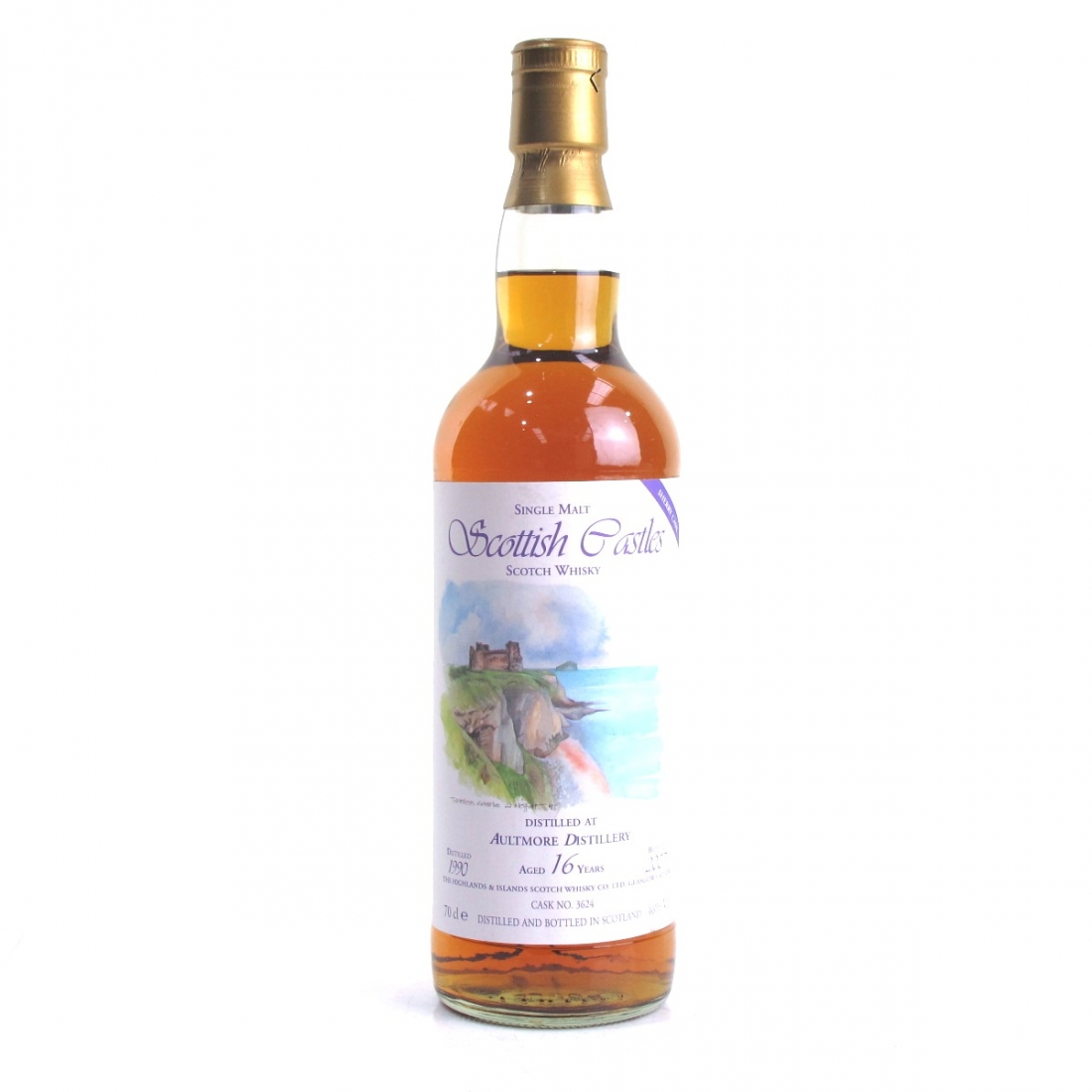 Aultmore 1990Scottich Castles 16 Year Old