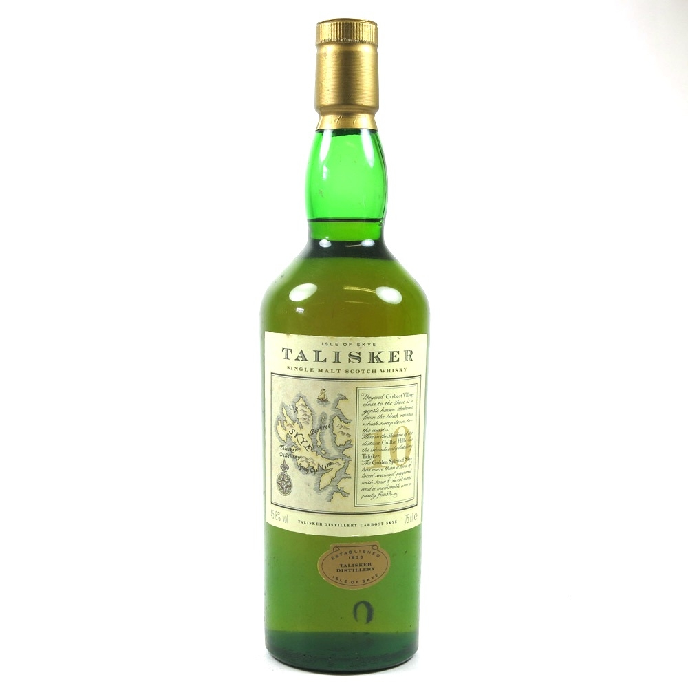 Talisker 10 Year Old 1980s Front