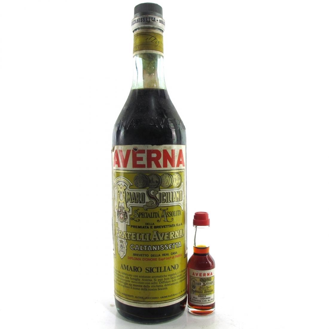 Averna Amaro Siciliano / including Miniature