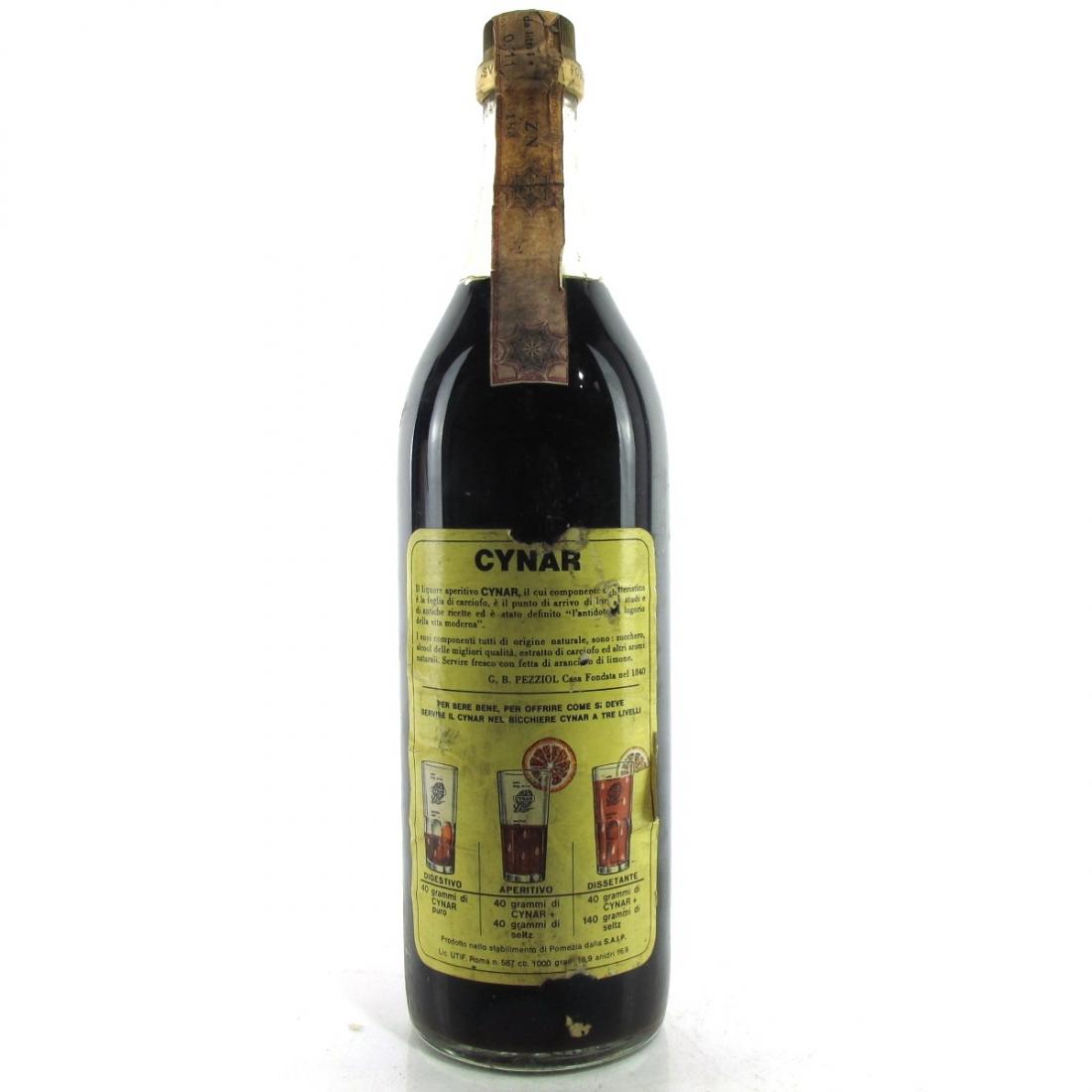 Cynar Artichoke Liqueur 1 Litre 1970s