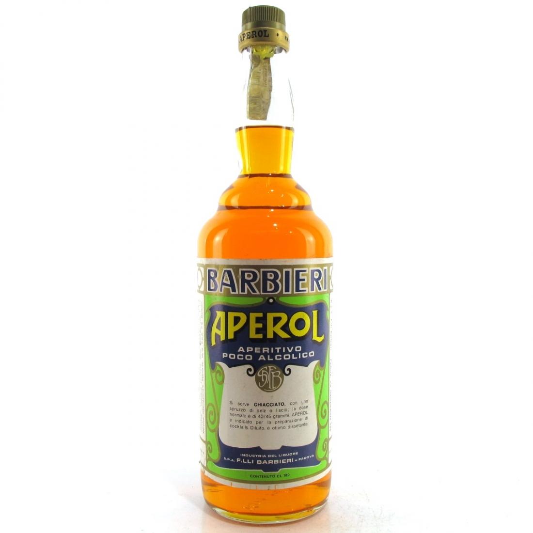 Aperol 1 Litre 1980s