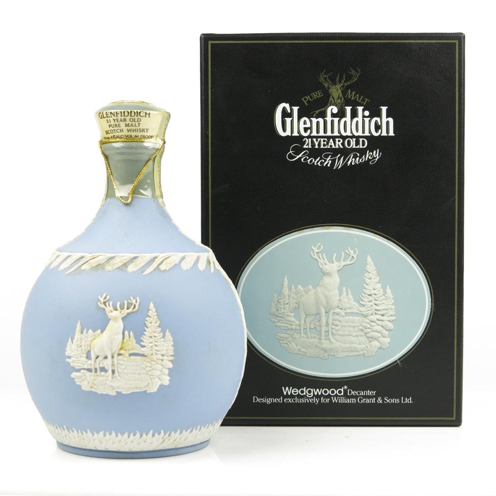 Glenfiddich 21 Year Old Wedgewood Decanter