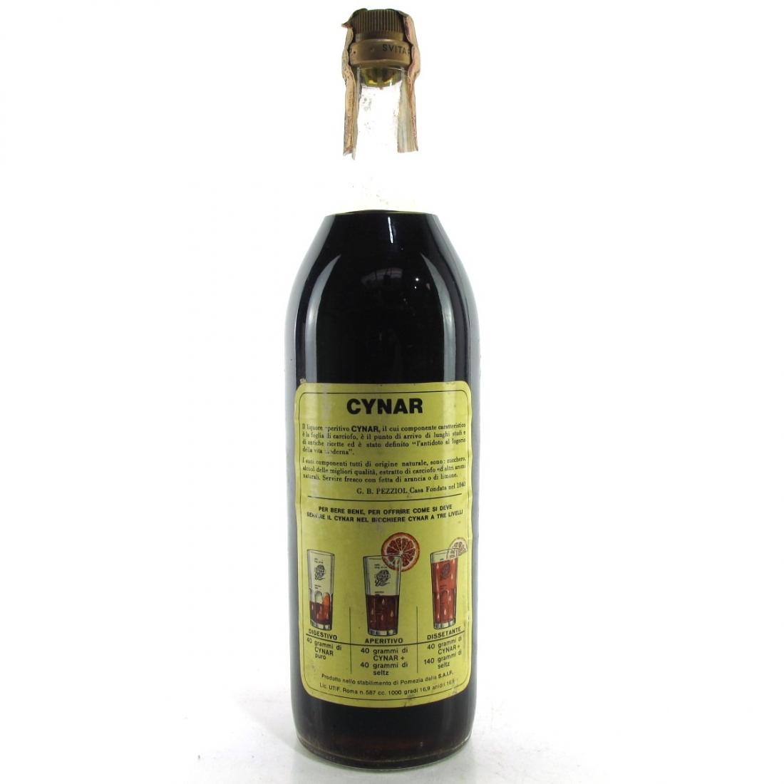 Pezziol Cynar Artichoke Liqueur 1960s
