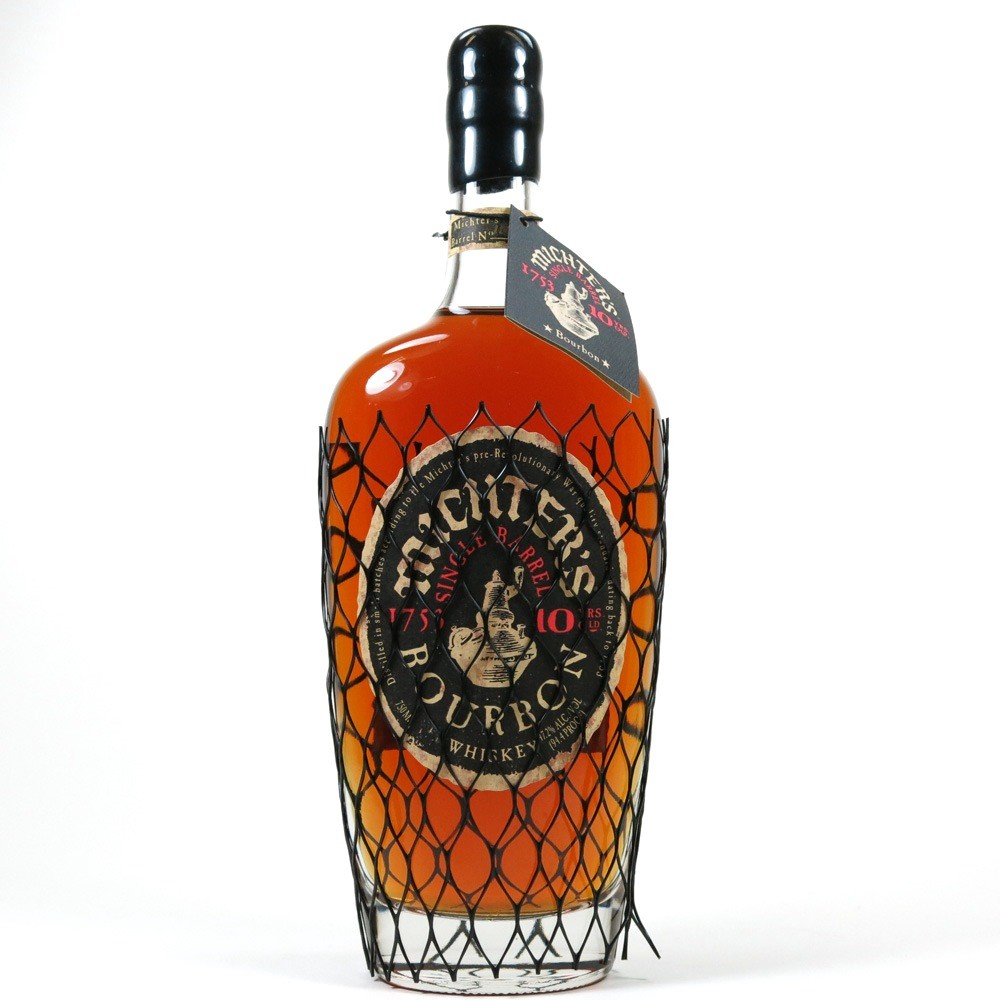 Michter's 10 Year Old Single Barrel Bourbon Front