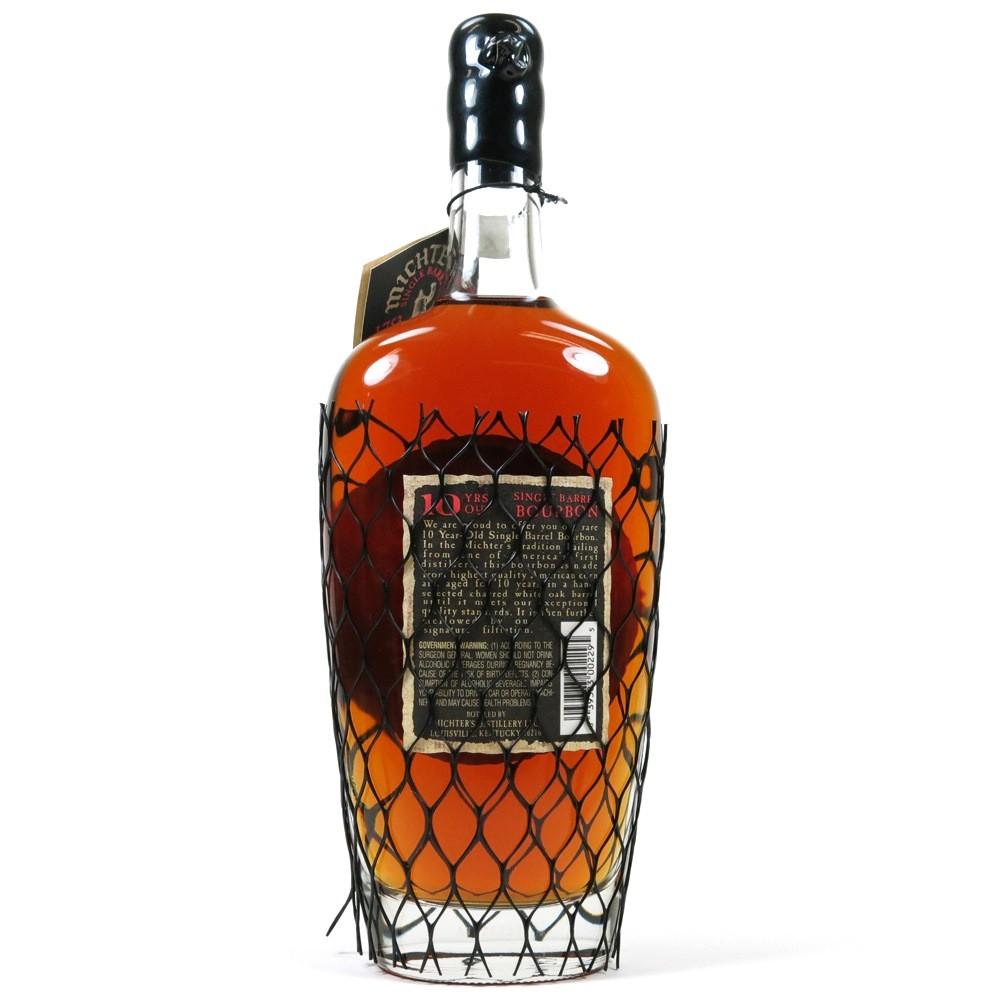 Michter's 10 Year Old Single Barrel Bourbon Back
