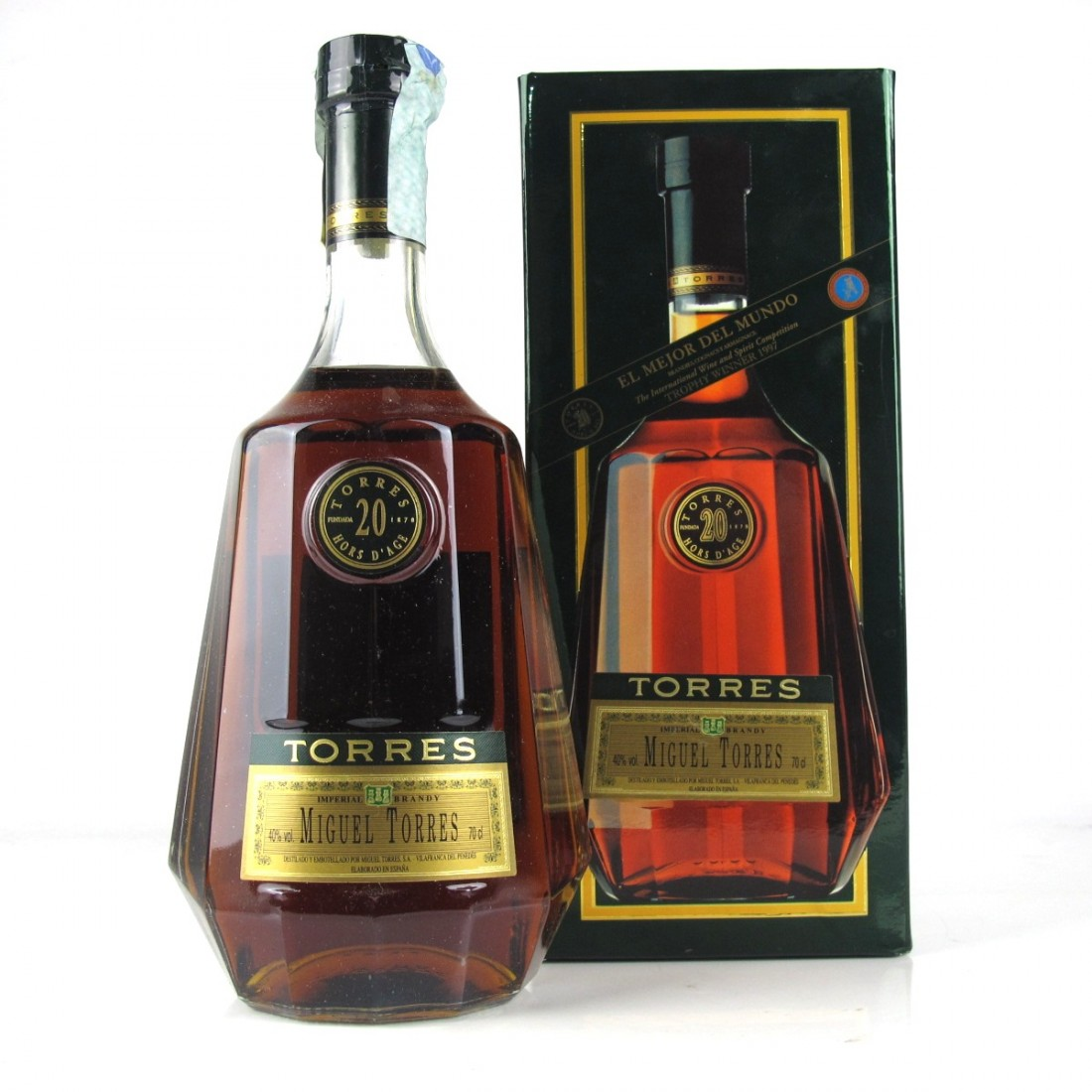 Torres 20 Year Old Hors D'Age Brandy