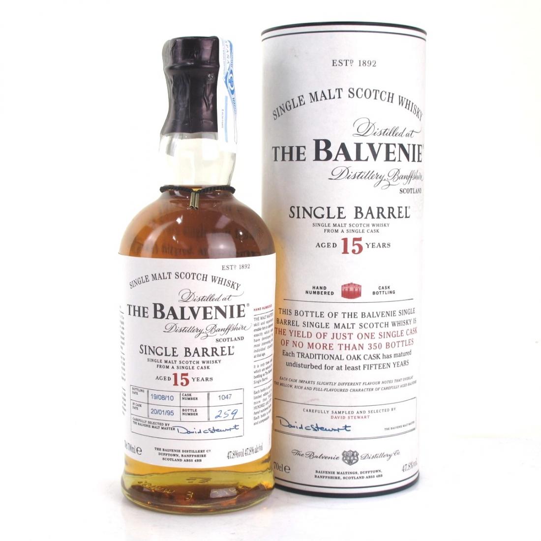 Balvenie 1995 15 Year Old Single Barrel