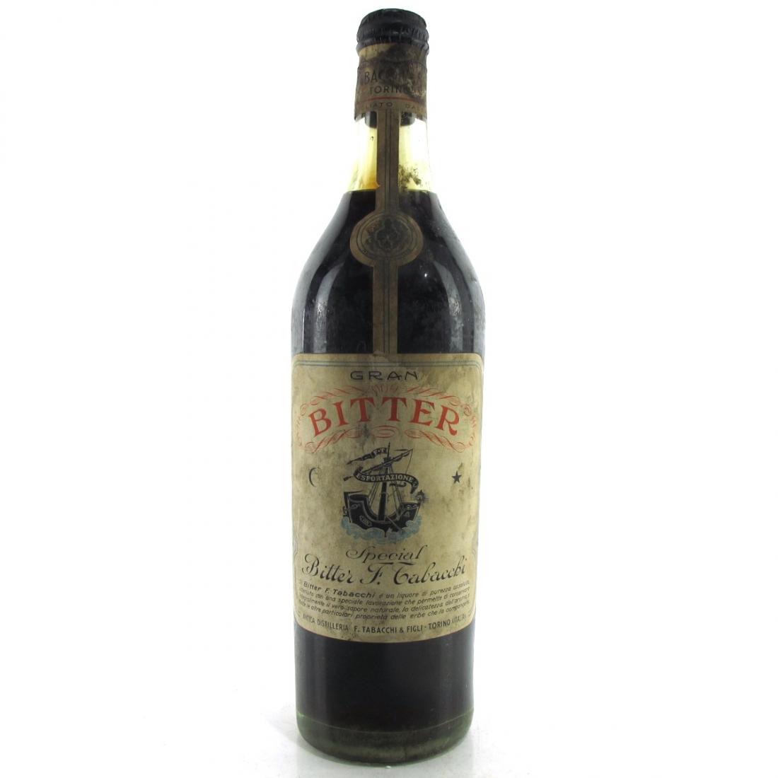 Gran Bitter F. Tabacchi 1 Litre 1940s