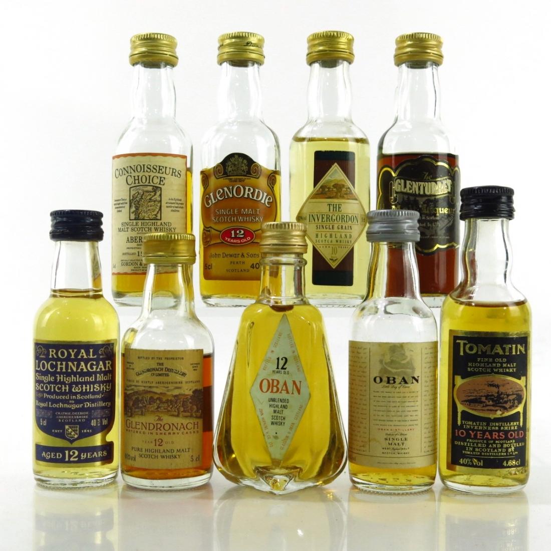 Highland Miniature Selection x 9