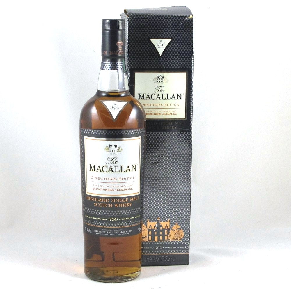 Macallan Director's Edition 75cl Front