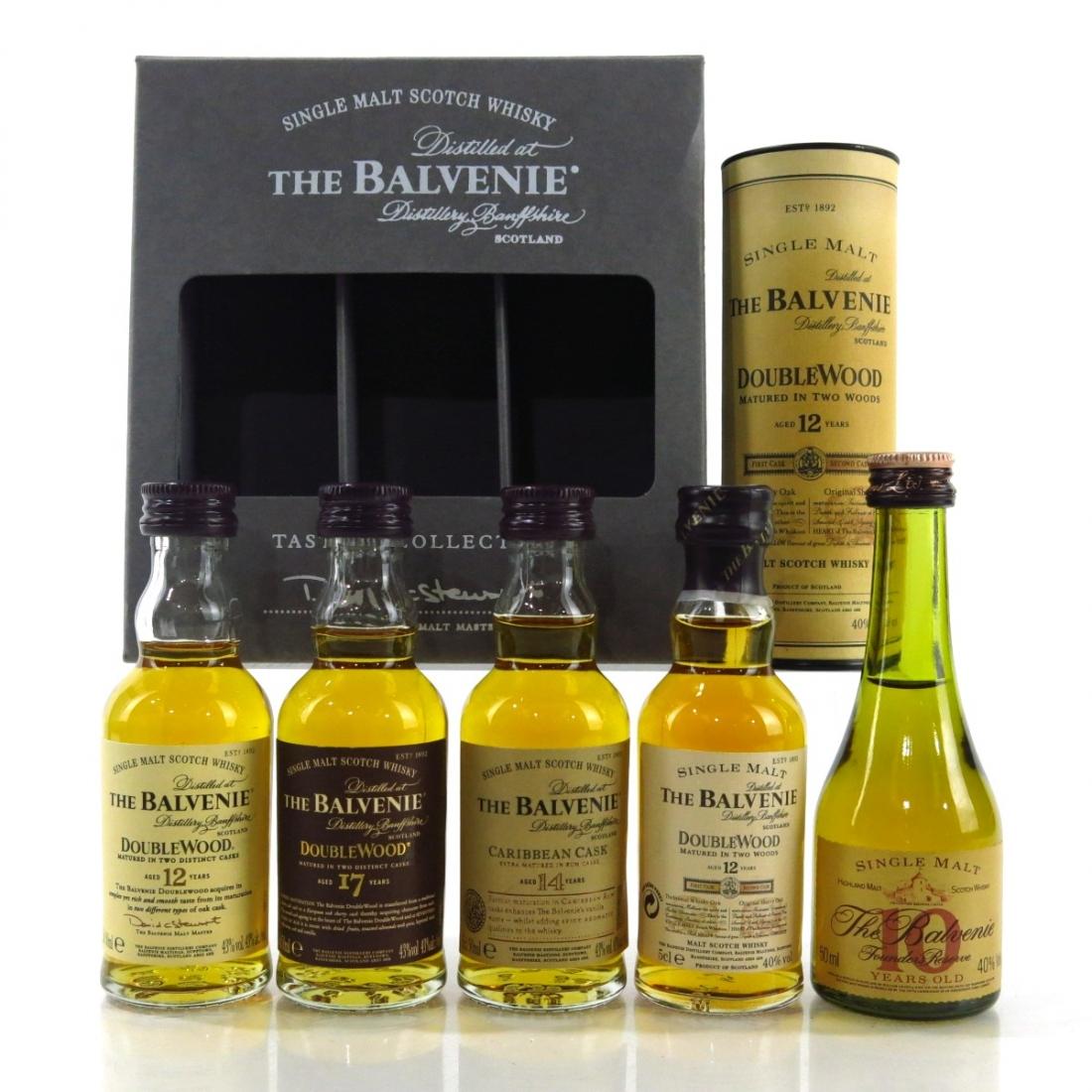 Balvenie Miniature Selection 5 x 5cl