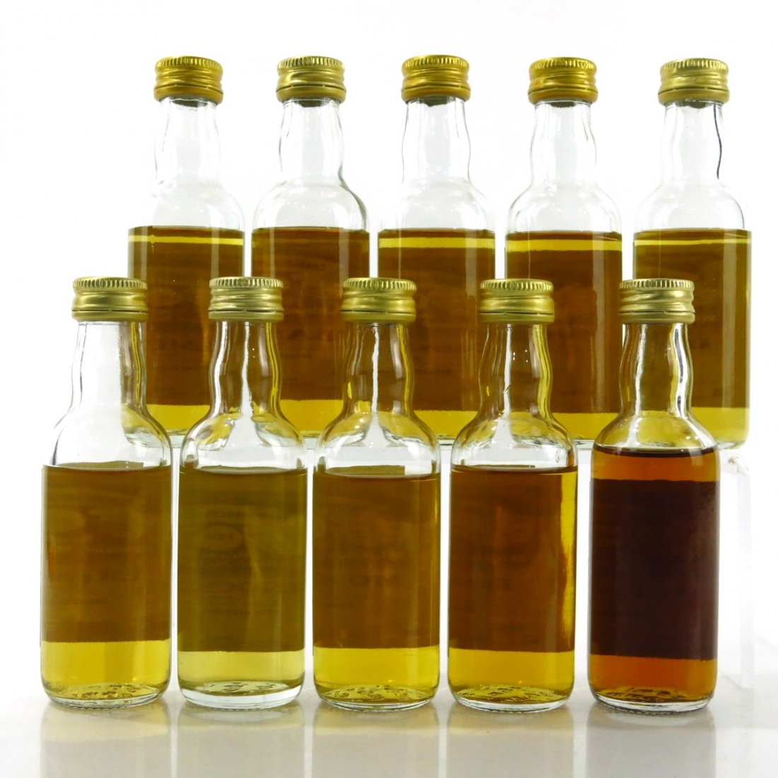 Gordon and MacPhail Miniature Selection 10 x 5cl