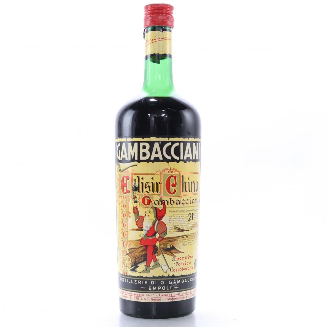 Gambacciani Elisir China 1 Litre 1950s