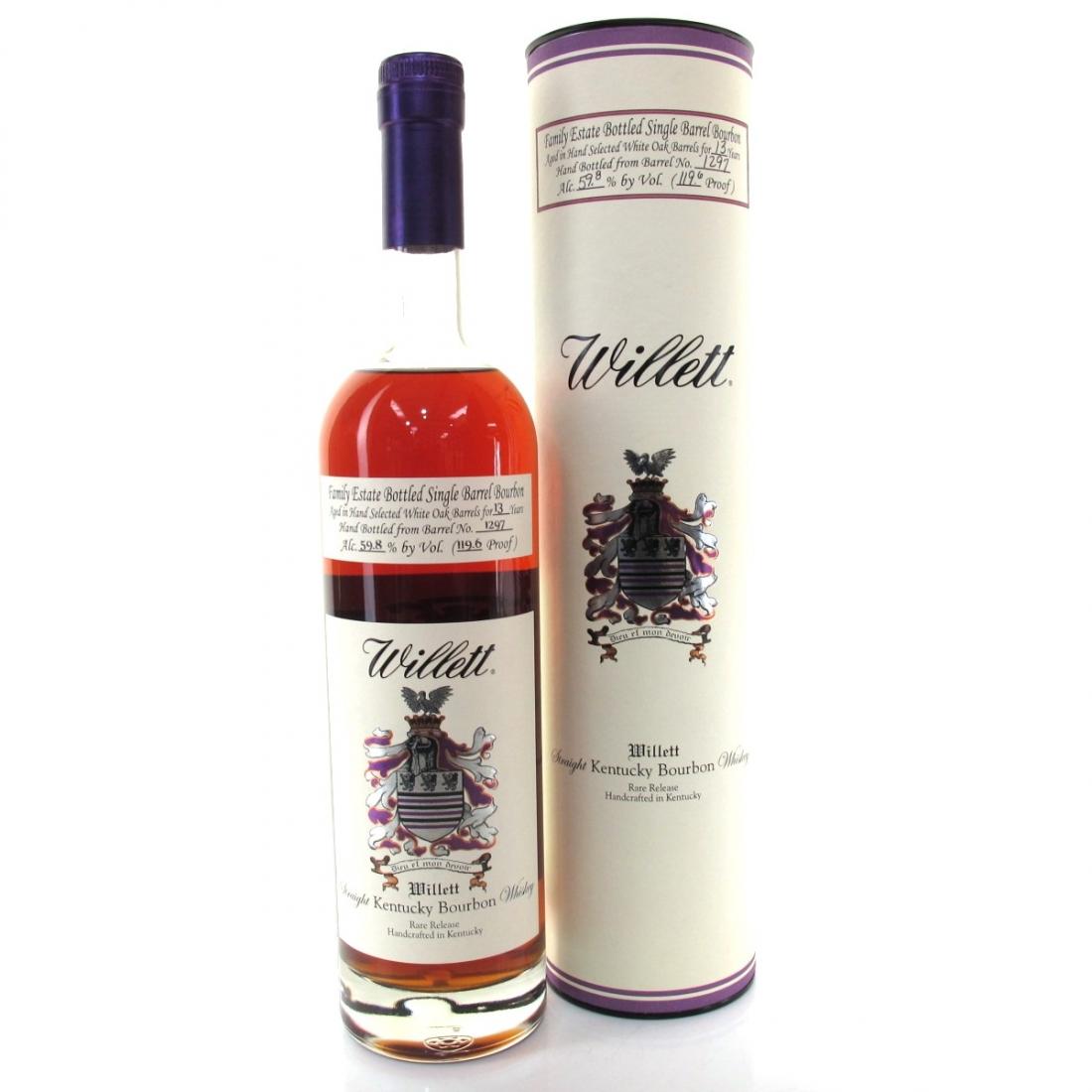 Willett Family Estate 13 Year Old Single Barrel Bourbon #1297