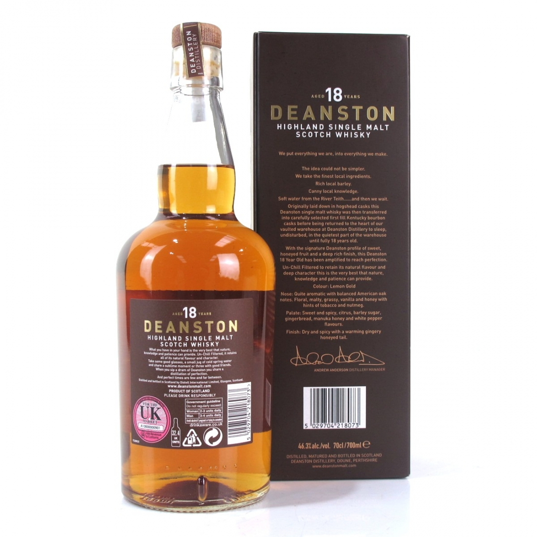 Deanston 18 Year Old Limited Release Batch #3
