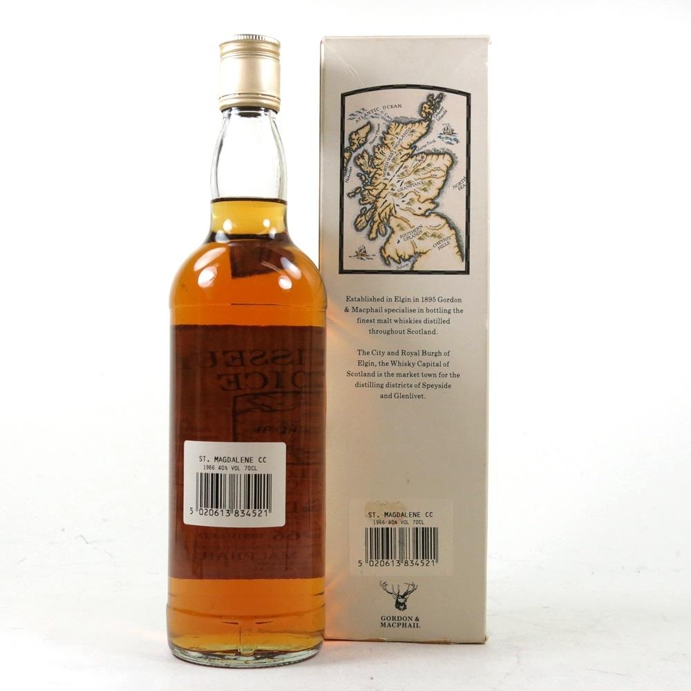 St Magdalene 1966 Gordon and Macphail / Bottled 1996 back