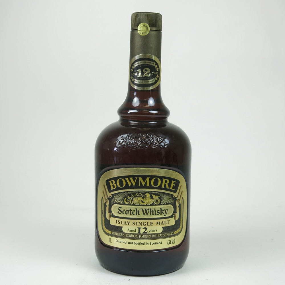 Bowmore 12 Year Old 1980s 1 Litre