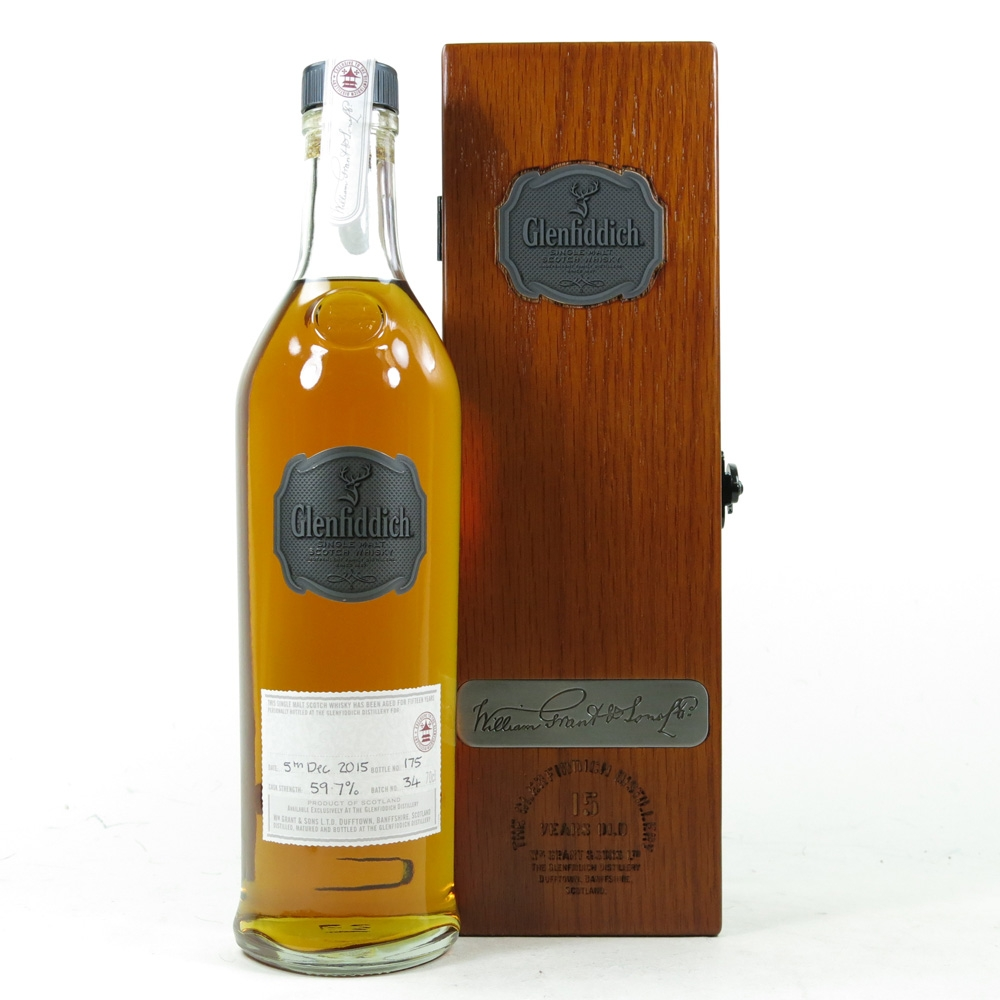 Glenfiddich 15 Year Old Distillery Exclusive - Hand Filled Batch #34