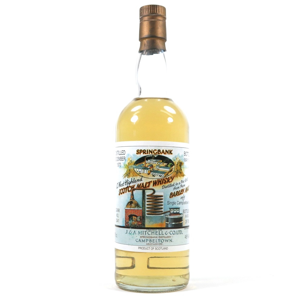 Springbank 1970 Local Barley Cask #3341