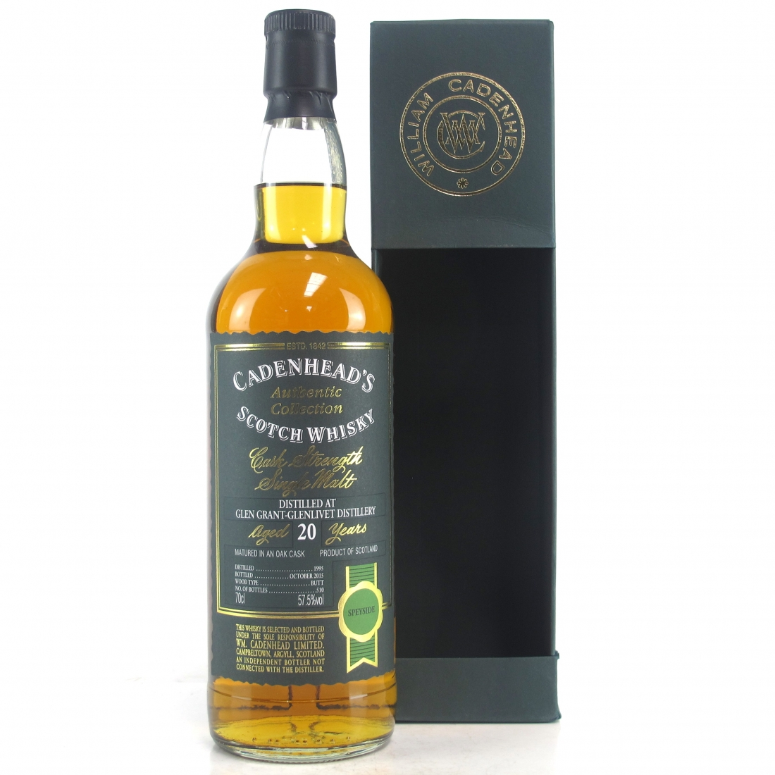 Glen Grant 1995 Cadenhead's 20 Year Old