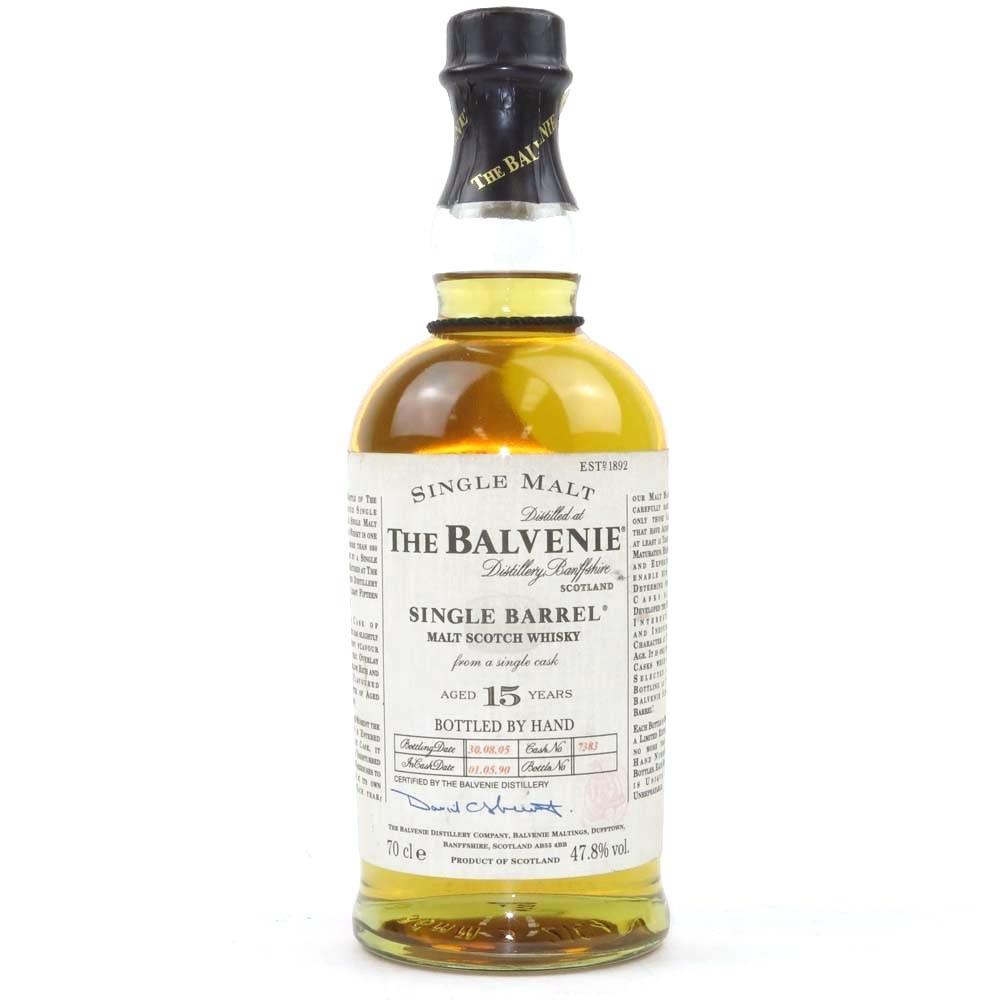 Balvenie 1990 Single Barrel 15 Year Old
