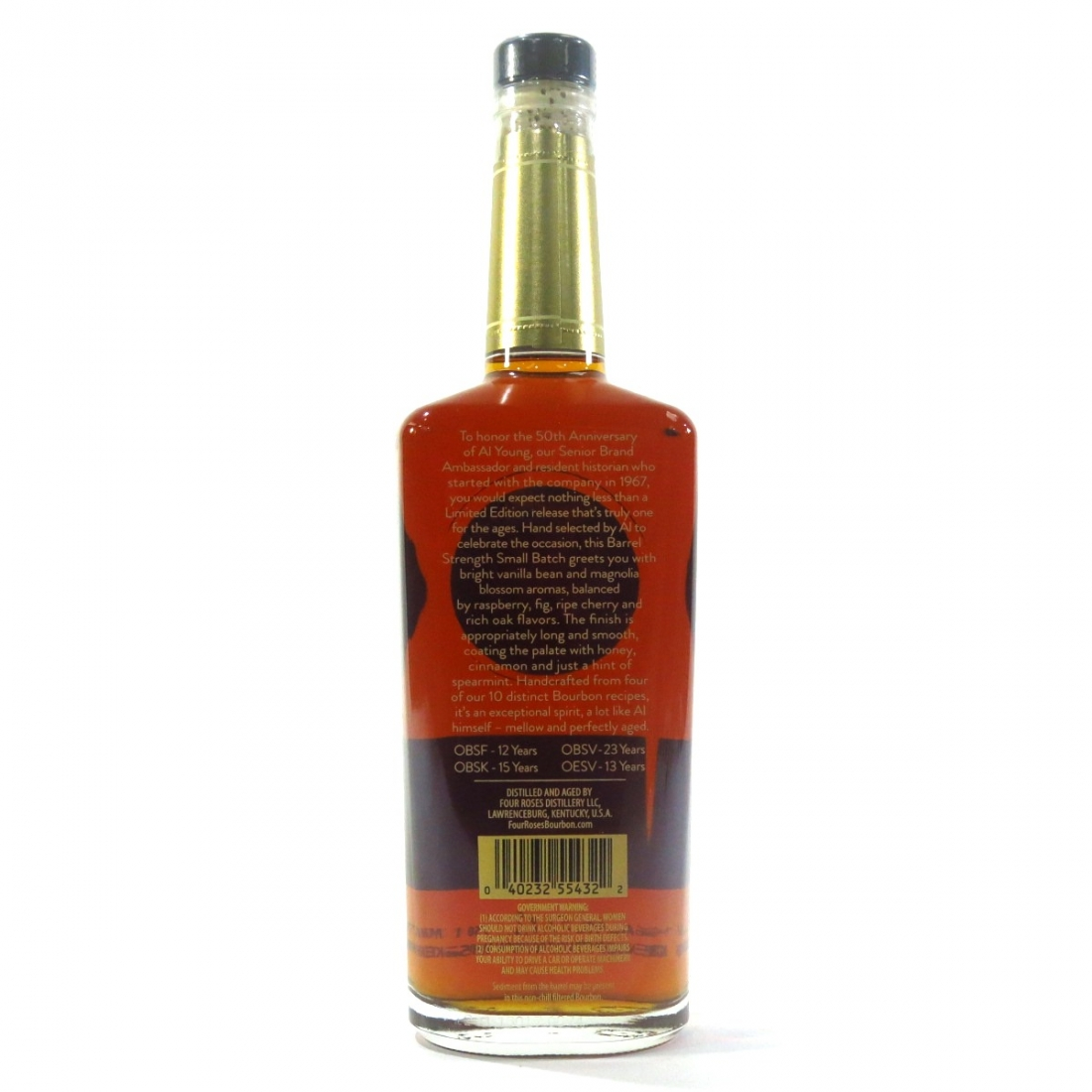 Four Roses Small Batch 2017 Limited Edition / Al Young 50th Anniversary