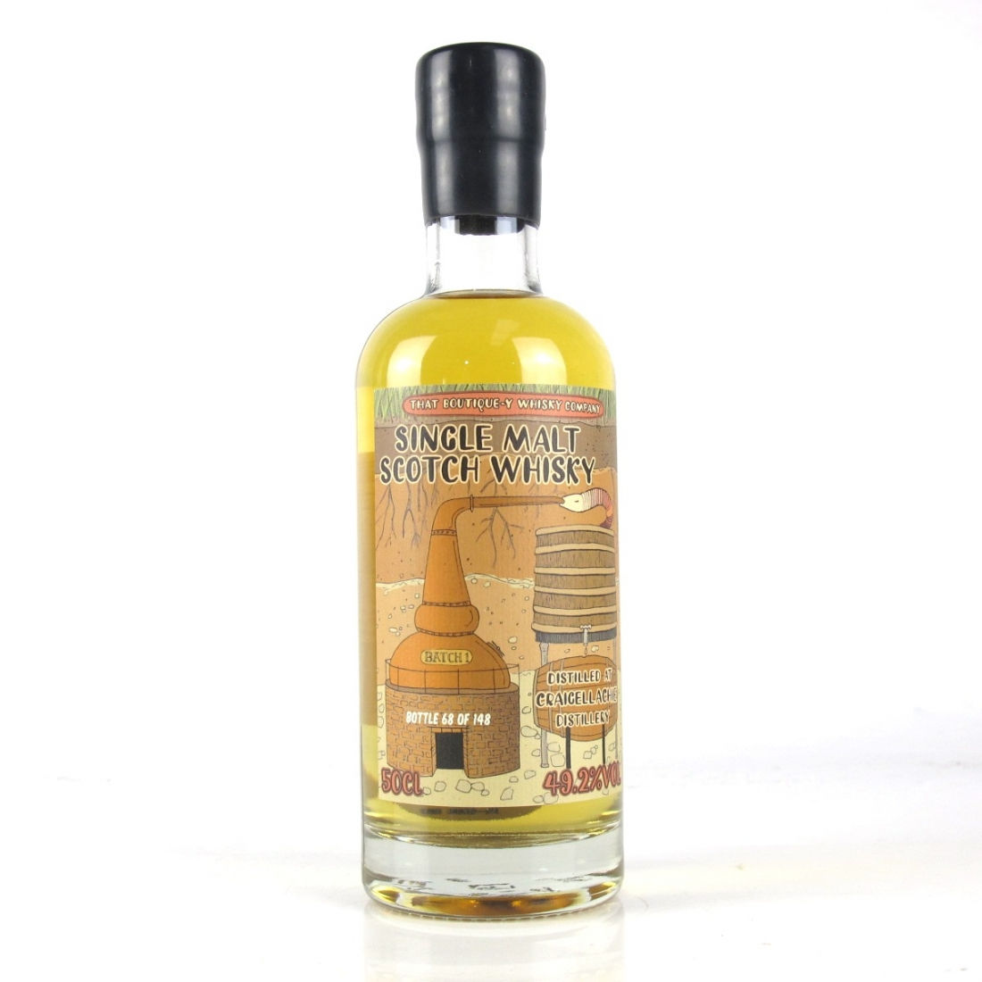 Craigellachie That Boutique-y Whisky Company Batch #1
