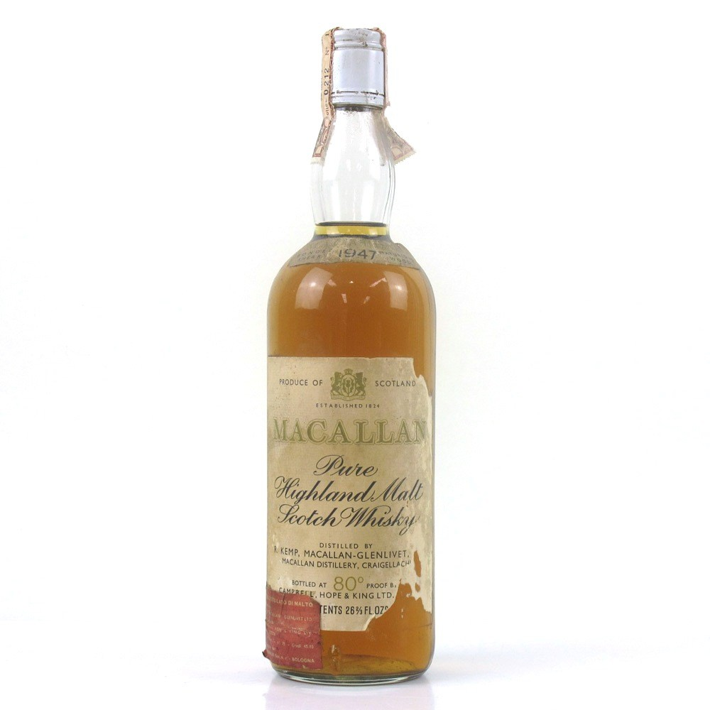 Macallan 1947 Campbell, Hope and King