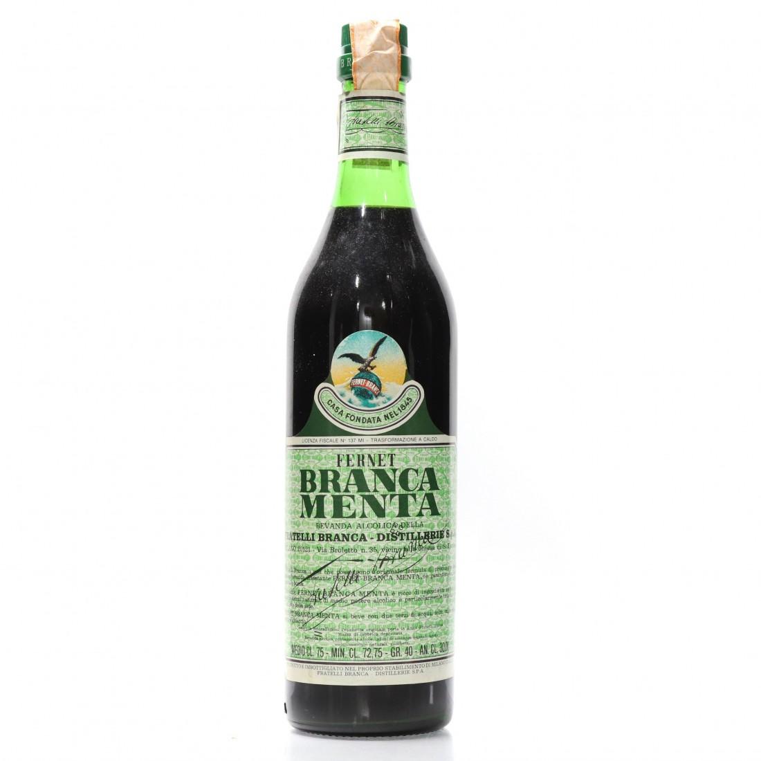 Fernet-Branca Menta 1970s