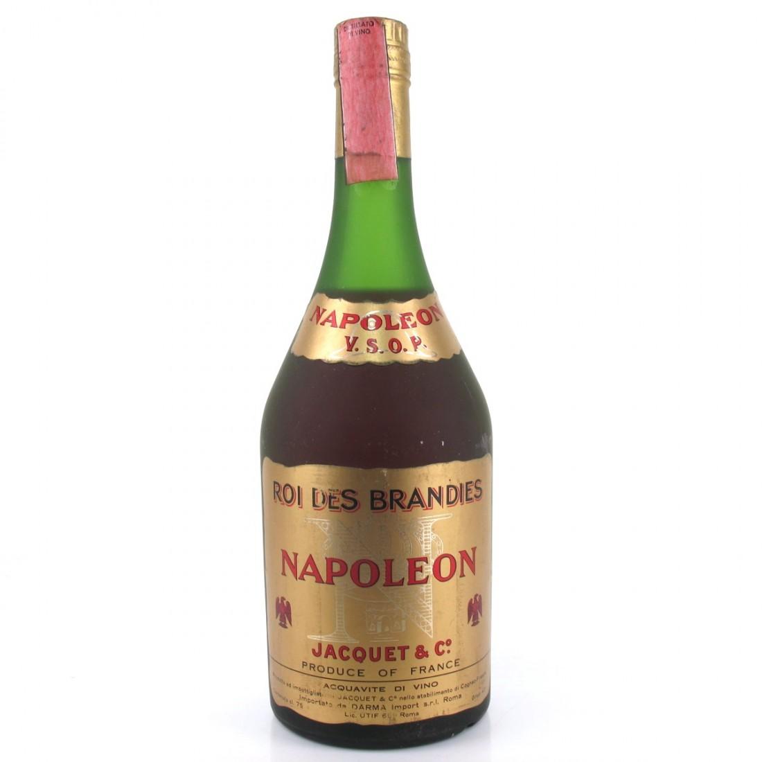 Jacquet and Co. Napoleon VSOP Brandy 1970s