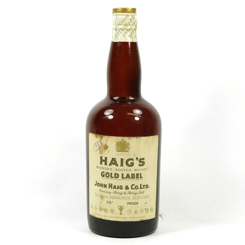 Haig's Gold Label 1950s Front
