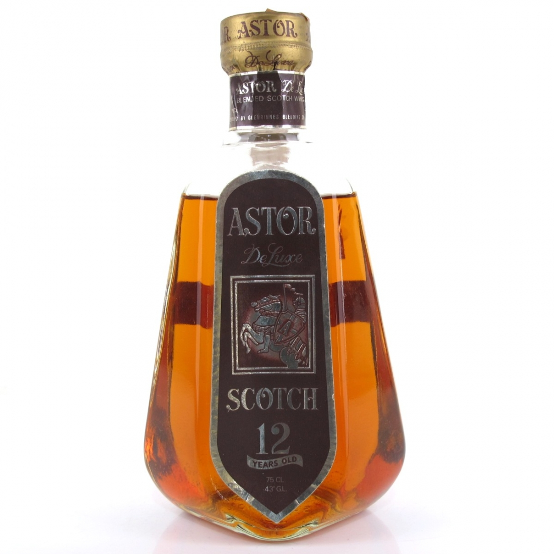 Astor De Luxe Scotch Whisky 12 Year Old Circa 1960s