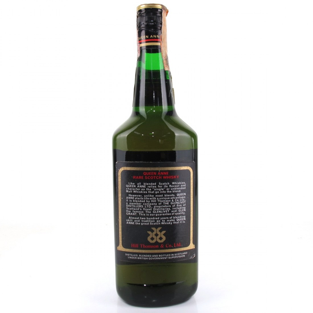 Queen Anne Rare Scotch 1960s