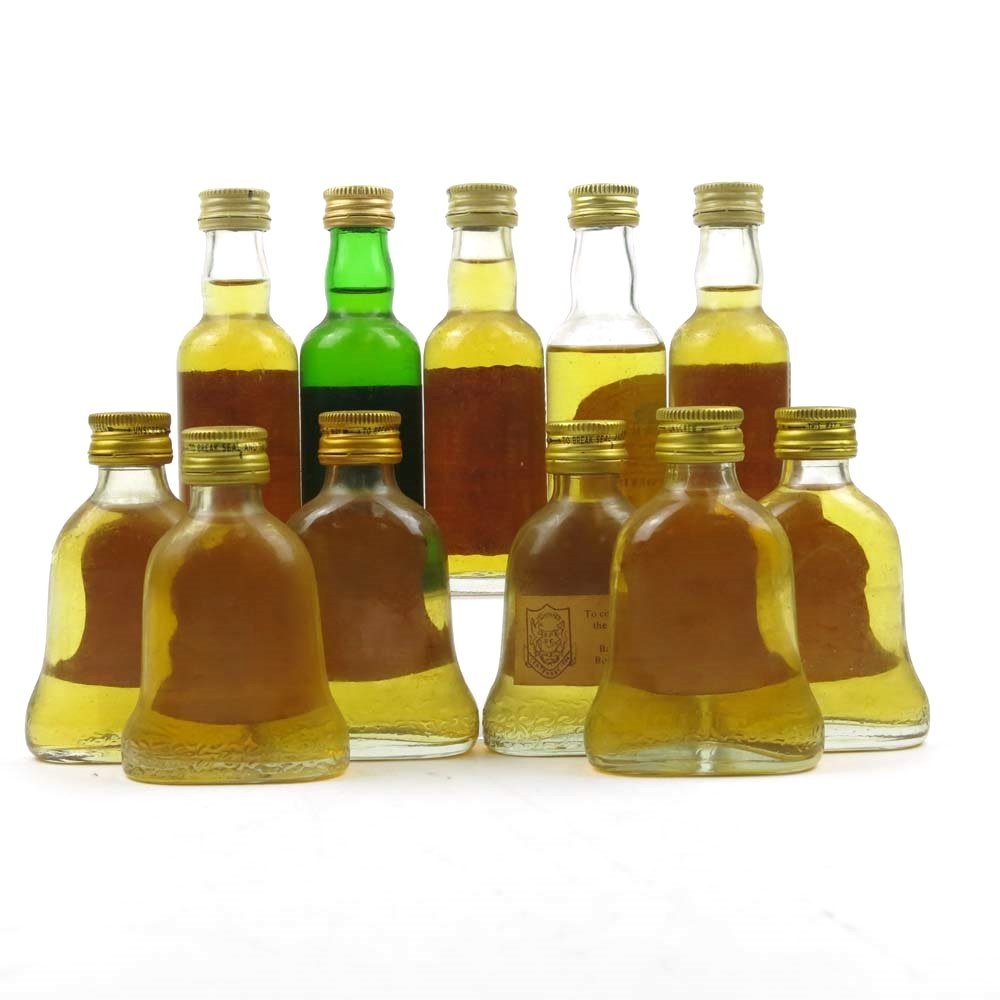 Miscellaneous Blended Miniature Selection 11 x 5cl