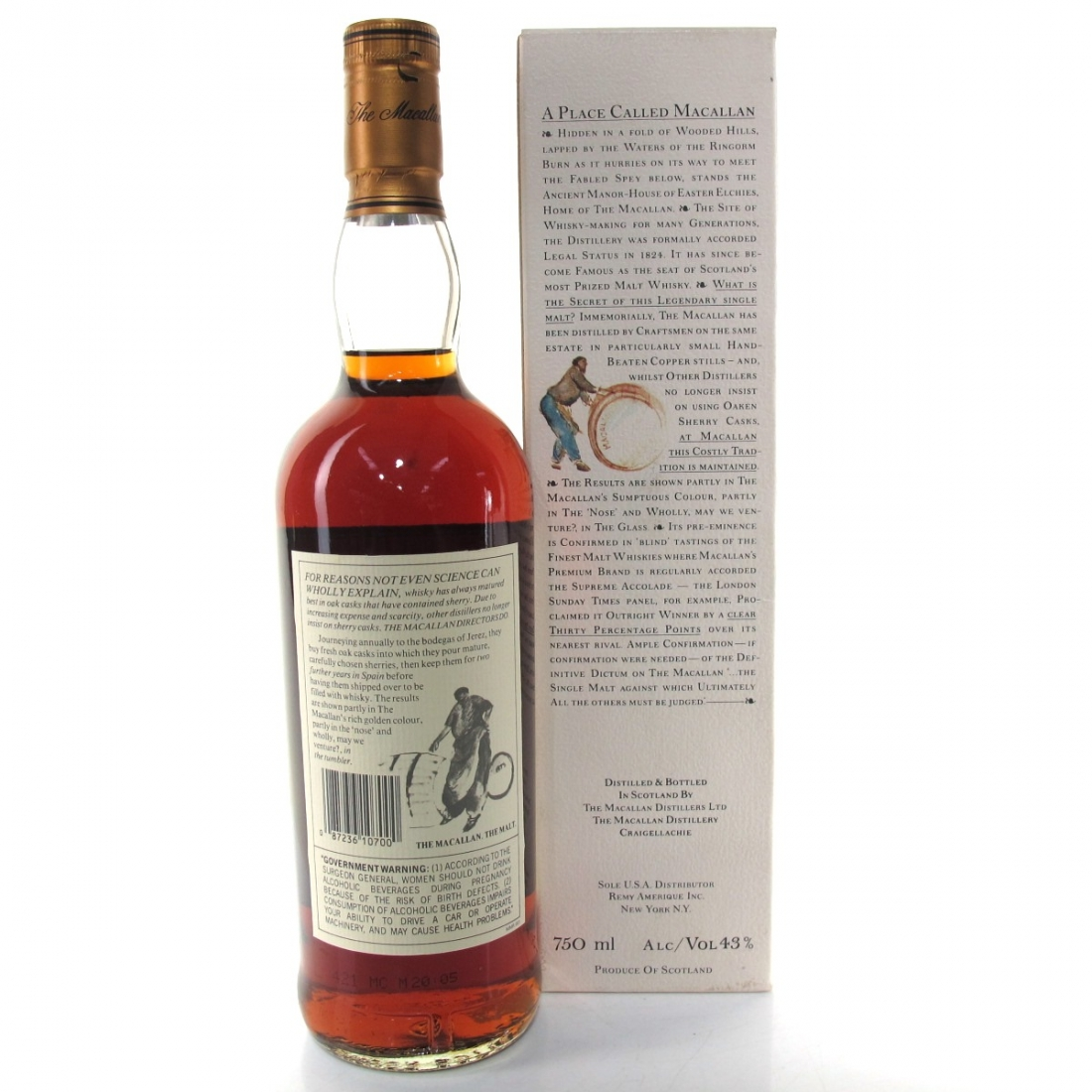 Macallan 18 Year Old 1976 75cl / US Import