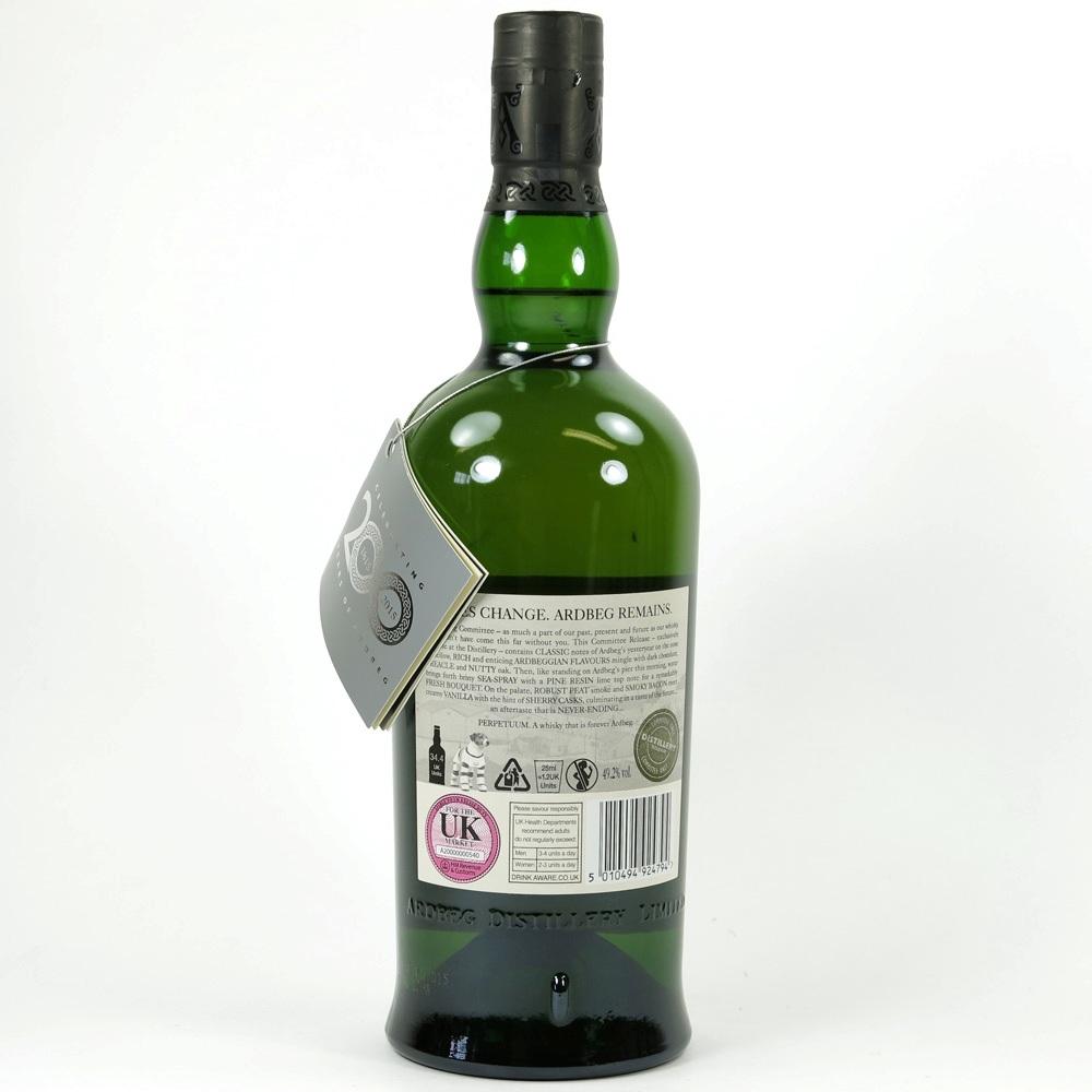 Ardbeg Perpetuum Distillery Release Back