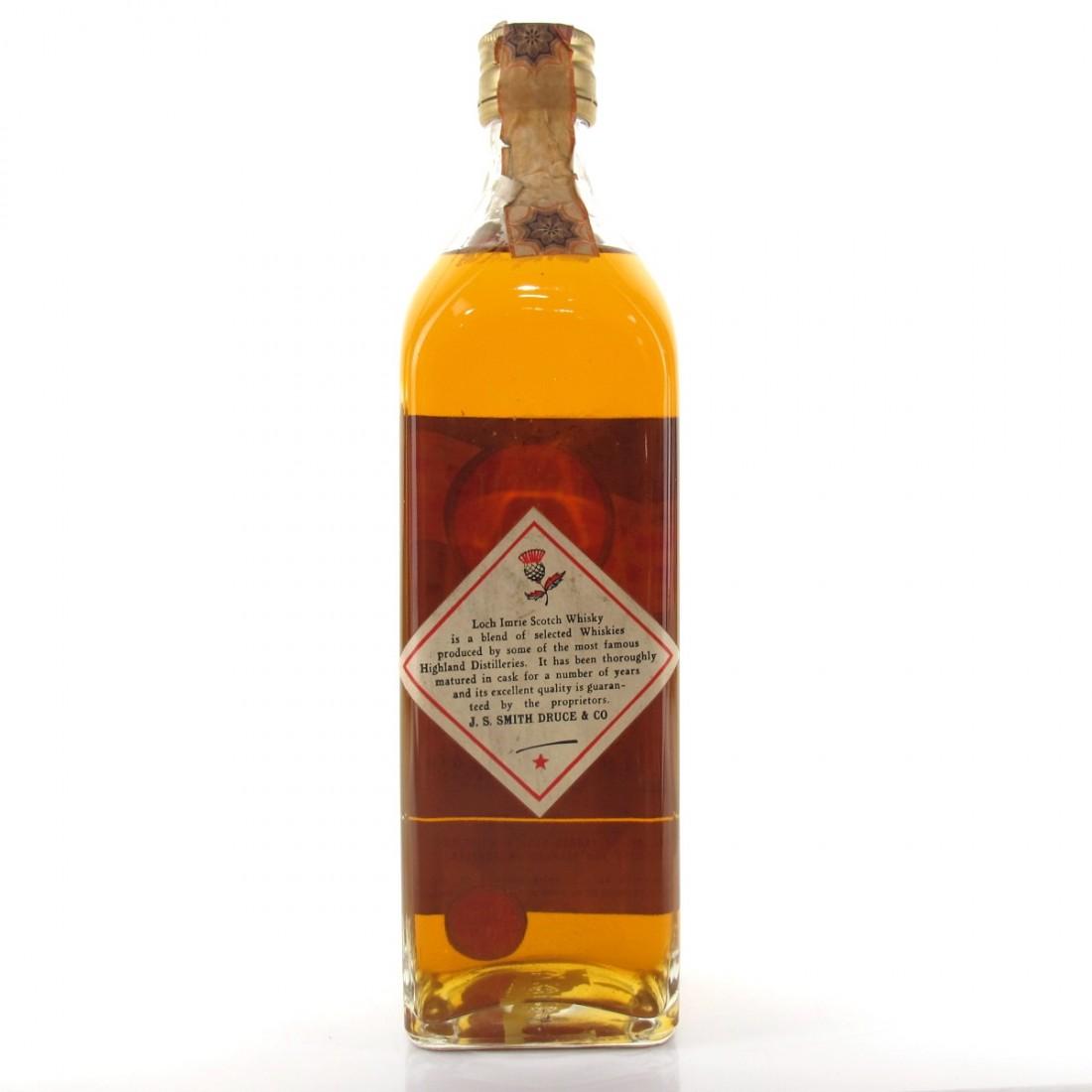 Loch Imrie Fine Old Scotch Whisky 1960s