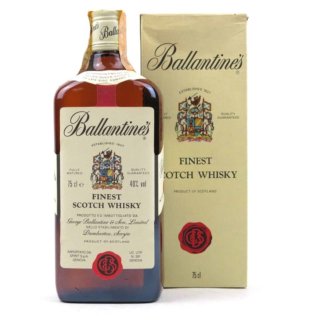 Ballantine's Finest 1980s