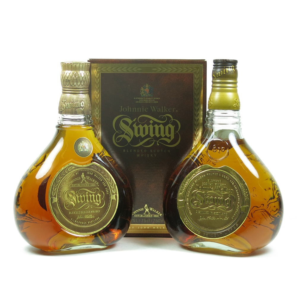 Johnnie Walker Swing x 2 75cl front