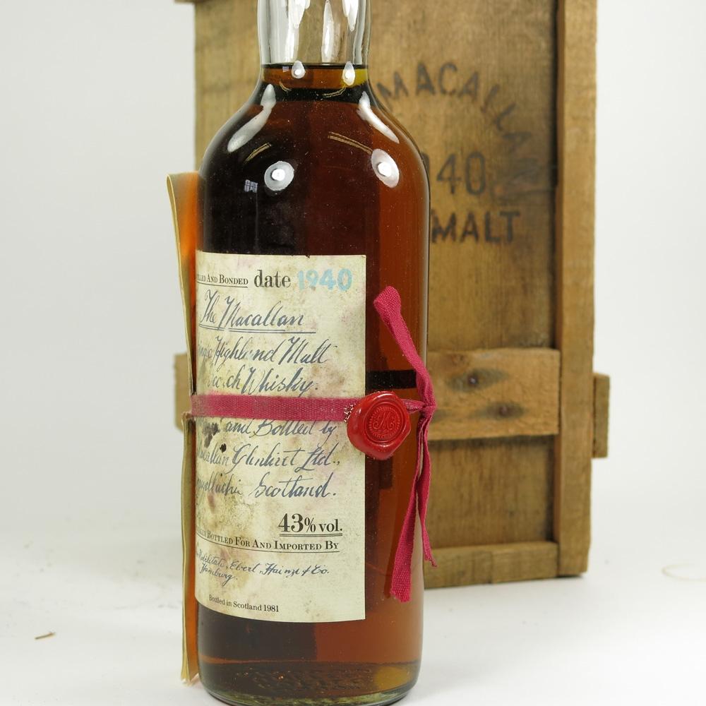 Macallan 1940 Label 2