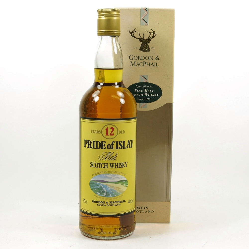Pride of Islay 12 Year Old Front