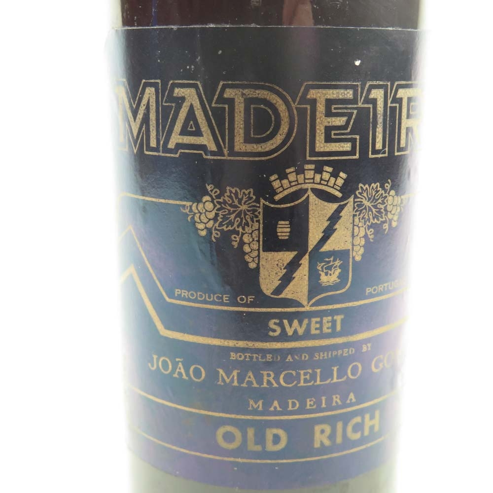 MJR Gomes Old Rich Madeira