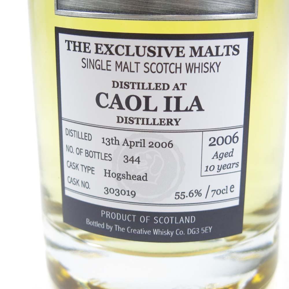 Caol Ila 2006 The Creative Whisky Co. 10 Year Old