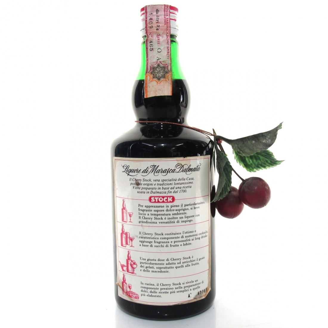 Stock Cherry Brandy 1960s