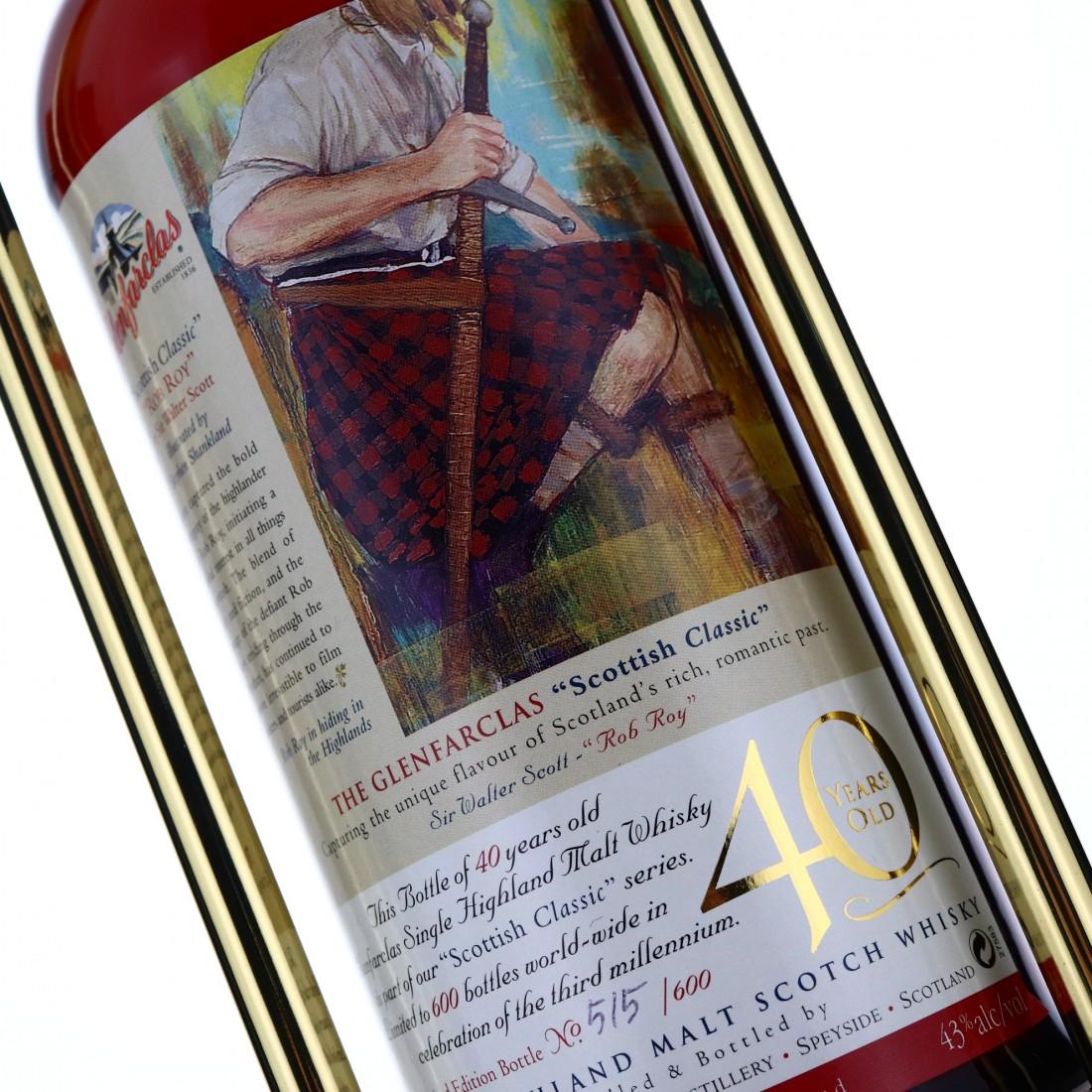 Glenfarclas 40 Year Old Scottish Classic 75cl / US Import
