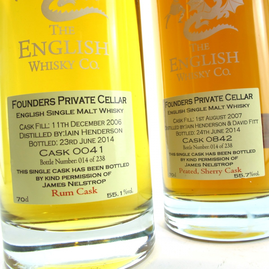 English Whisky Co Founders Cellar Final Signature 2 x 70cl