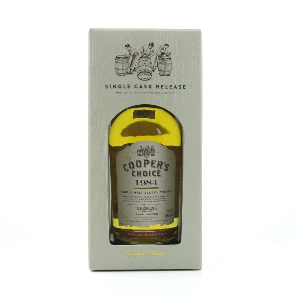 Glenesk 1984 Cooper's Choice 31 Year Old